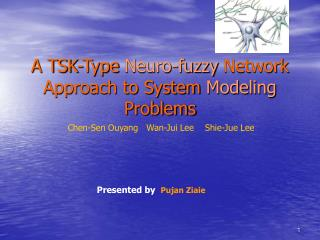 A TSK-Type  Neuro-fuzzy  Network Approach to System  Modeling  Problems