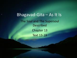 Bhagavad-Gita – As It Is