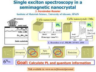 L. Besombes  et al. , PRL 93 , 207403, 2004