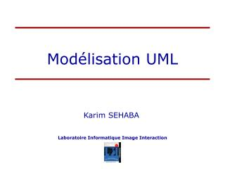 Mod�lisation UML