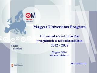 Magyar Universitas Program