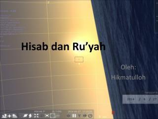 Hisab dan Ru�yah