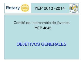 YEP 2010 -2014