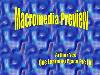 Macromedia Preview