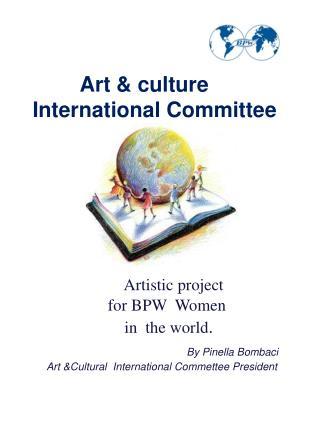 Art & culture International Committee