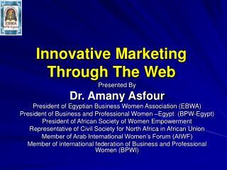 Innovative Marketing Through The Web