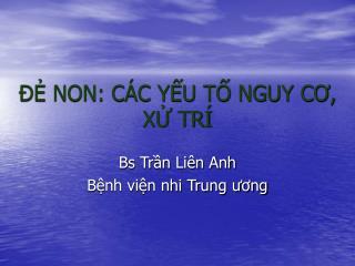 ?? NON: C�C Y?U T? NGUY C?, X? TR�