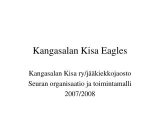 Kangasalan Kisa Eagles