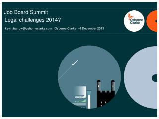 Job Board Summit  Legal challenges 2014?