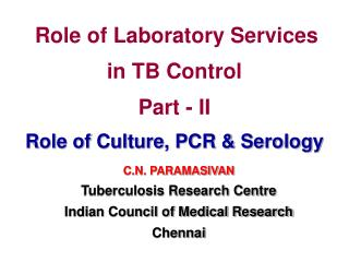 Role of Laboratory Services