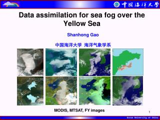 Data assimilation for sea fog over the Yellow Sea