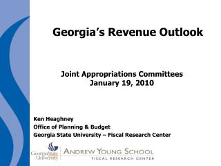 Georgia's Revenue Outlook