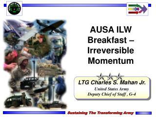 AUSA ILW Breakfast   Irreversible Momentum