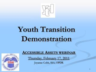 Youth Transition Demonstration