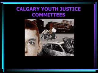 CALGARY YOUTH JUSTICE COMMITTEES