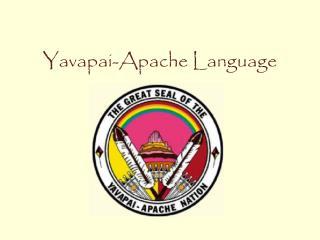 Yavapai-Apache Language