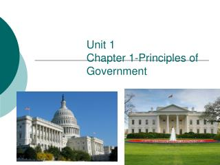 Unit 1 Chapter 1-Principles of Government