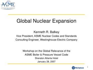 Global Nuclear Expansion