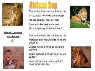African Rap