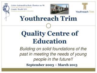 Youthreach Trim