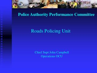 Police Authority Performance Committee