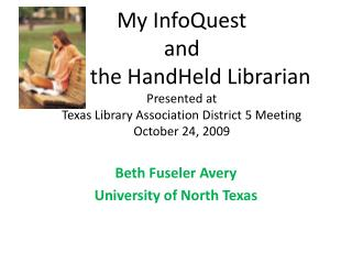 Beth Fuseler Avery University of North Texas