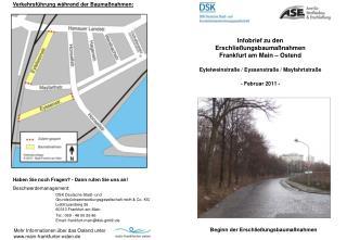 DSK Deutsche Stadt- und  Grundstücksentwicklungsgesellschaft mbH & Co. KG Liebfrauenberg 26