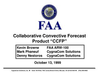 "Collaborative Convective Forecast Product ""CCFP"""
