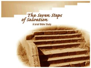 Seven Steps of Salvation Bible Study
