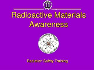 Radioactive Materials Awareness