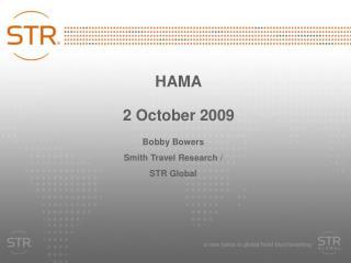 HAMA 2 October 2009