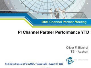 PI Channel Partner Performance YTD