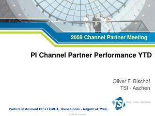 PI Channel Partner Performance YTD