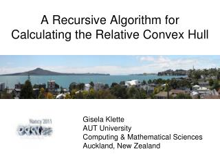 A Recursive Algorithm for Calculating the Relative Convex Hull