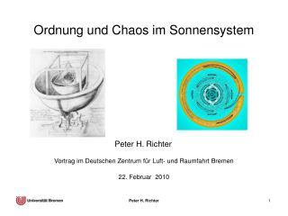 Ordnung und Chaos im Sonnensystem