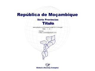 Série Províncias
