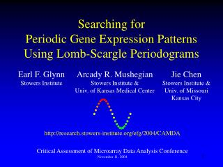 Searching for Periodic Gene Expression Patterns  Using Lomb-Scargle Periodograms