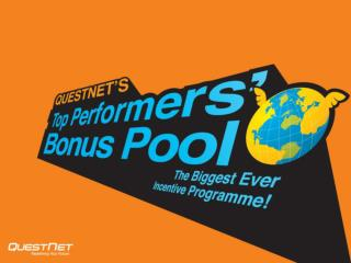 QuestNet's Top Performers' Bonus Pool