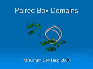 Paired Box Domains