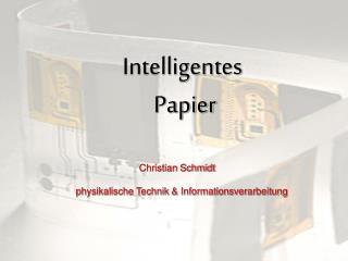 Intelligentes  Papier