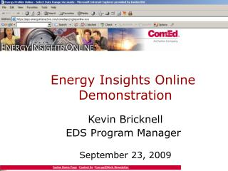 Energy Insights Online