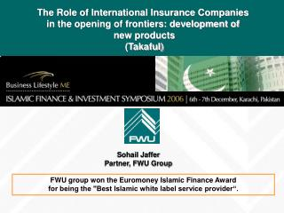 Sohail Jaffer Partner, FWU Group