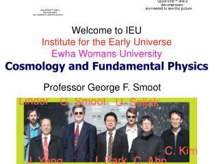 Professor George F. Smoot