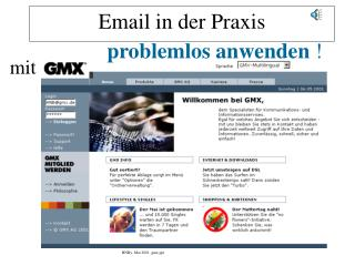 Email in der Praxis