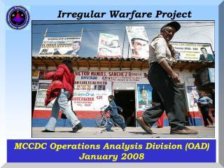 Irregular Warfare Project