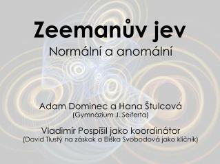 Zeemanův jev