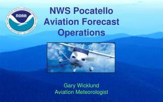 NWS Pocatello Aviation Forecast  Operations