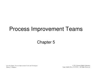 Process Improvement Teams