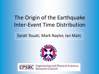 The Origin of the Earthquake Inter-Event Time Distribution