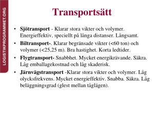Transports�tt